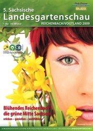 Blühendes Reichenbach: die grüne Mitte Sachsens