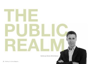 The Public Realm by Hamish Lyon - Major Projects Victoria