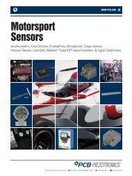 Motorsport Sensors - Synotech Sensor und