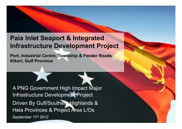 Paia Inlet Seaport & Integrated Infrastructure Development Project