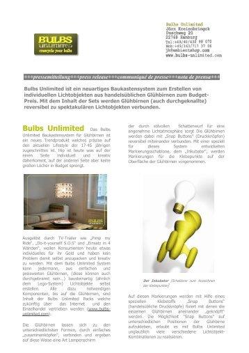 Bulbs Unlimited Das Bulbs