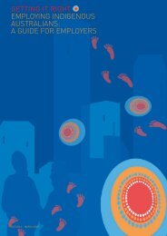Employing Indigenous Australians - A Guide for ... - WPC Group
