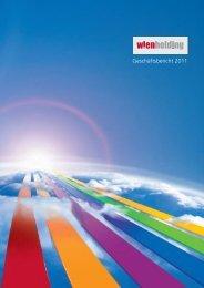 Geschäftsbericht 2011 - Wien Holding
