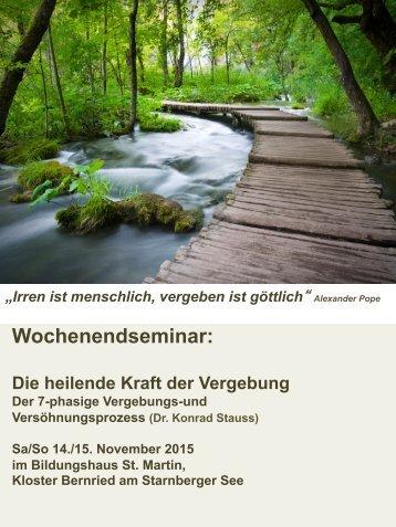 Wochenendseminar: - Petra Mayer