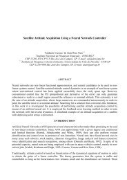Satellite Attitude Acquisition Using a Neural Network Controller - Inpe