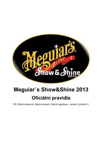 Meguiar´s Show&Shine 2013 - Tuning Cup