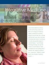 Integrative Medicine - Providence Foundations