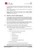 Chronic Fatigue Syndrome - Welfare.ie - Page 5