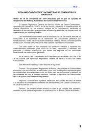 Reglamento de Redes y Acometidas de Combustibles ... - cnpic