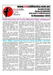 2012 11 13 Edition 374 - Redcliffe City News