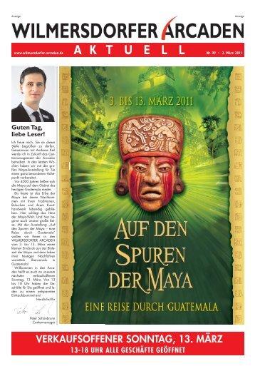 Ausgabe 2011-03 - Wilmersdorfer Arcaden