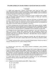 Prováděcí předpisy - Český horolezecký svaz