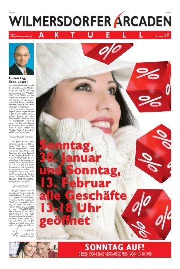 Ausgabe 2011-01 - Wilmersdorfer Arcaden