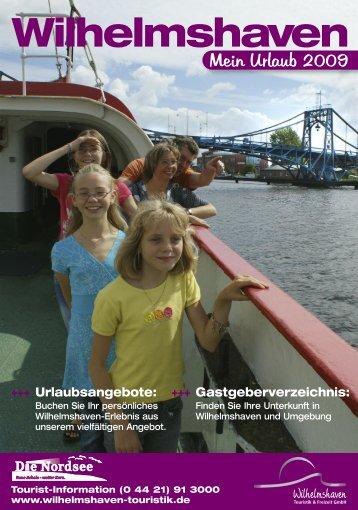 Tourist - Wilhelmshaven Touristik und Freizeit GmbH