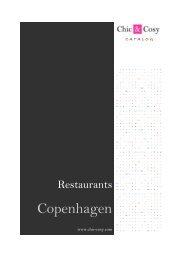 Restaurants In Copenhagen - Chic & Cosy