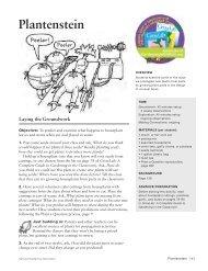 Plantenstein - KidsGardening.com