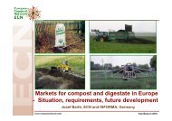 Markets for compost and digestate in Europe - Situation ...