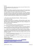 """Read """"The Role of the EU in the Israel/Palestine Conflict in Context"""" - Page 6"""