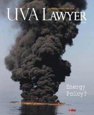 Energy Policy? - University of Virginia School of Law