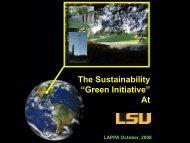LAPPA, Louisiana Higher Education Facility Administrators
