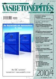 VB2010/4 - a fib Magyar Tagozata honlapja