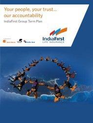 Group term life plan_Brochure_V8 - Life Insurance