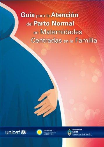 Guía para la atención del parto normal en maternidades centradas