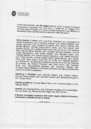 6.12.1 Potenziale formativo del Corso di Laurea - Sapienza