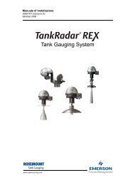 Manuale di Installazione - Rosemount TankRadar