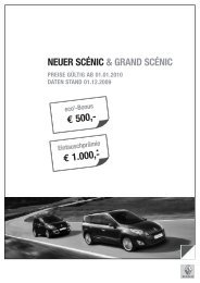 NEUER SCÉNIC & GRAND SCÉNIC - Renault