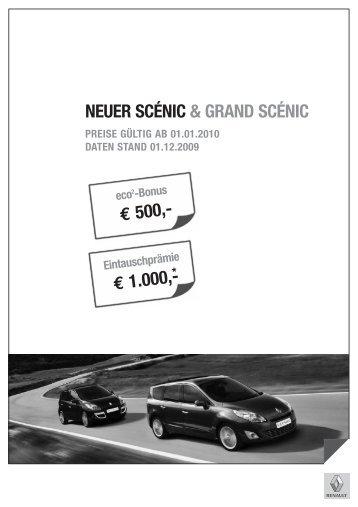 NEUER SCÉNIC & GRAND SCÉNIC - Renault
