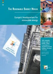 Europe's headquarters for renewable energy - European ...