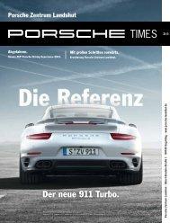 Der neue 911 Turbo. - Porsche Zentrum Landshut