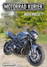 NOVEMBER2009 - Motorrad-Kurier