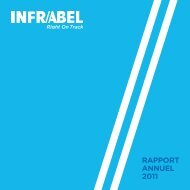 Rapport annuel 2011 - Infrabel
