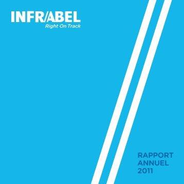 Rapport annuel 2011 - Infrabel