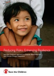 Reducing Risks, Enhancing Resilience - PreventionWeb