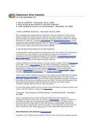 1. EAI at LOOP'O4 – November 18-21, 2004 2. New Artists & New ...