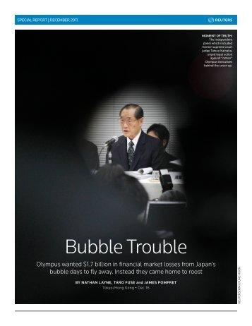 Bubble Trouble - Thomson Reuters