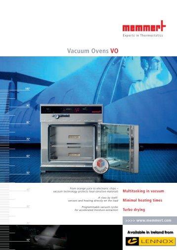 Memmert Vacuum Ovens VO - Labequip