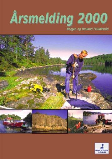 Årsmelding 2000 - Bergen og Omland Friluftsråd