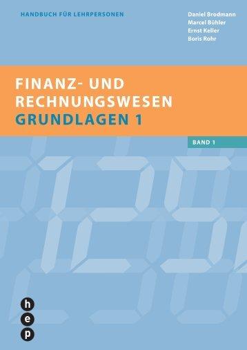 FINANZ- UND RECHNUNGSWESEN GRUNDLAGEN 1