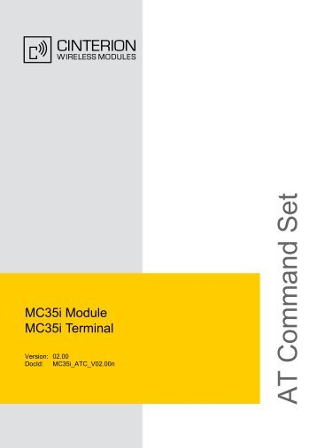 MC35i AT Command Set