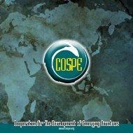 Presentation Brochure (410 KB) - Cospe