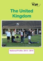 The United Kingdom - ICYE