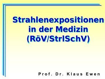 Strahlenexposition des Patienten und des Personals in der ...