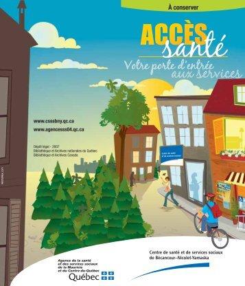 Bécancour-Nicolet-Yamaska - Agence de la santé et des services ...