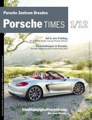 Ausgabe 1/12 - Porsche