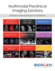 Multimodal Preclinical Imaging Solutions