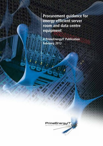 Procurement guidance for energy efficient server room and data ...